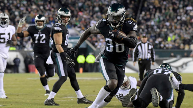 RBs Ajayi, Sproles out for Eagles