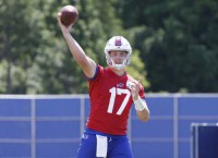 Bills' Allen to receive first-team reps at minicamp