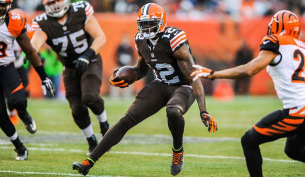 Josh Gordon could be in line for a big year in Cleveland. Photo Credit: Ken Blaze-USA TODAY Sports