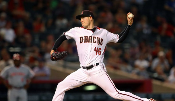 Patrick Corbin will be on the mound for the Diamondbacks when they take on the Rockies. Photo Credit: Mark J. Rebilas-USA TODAY Sports