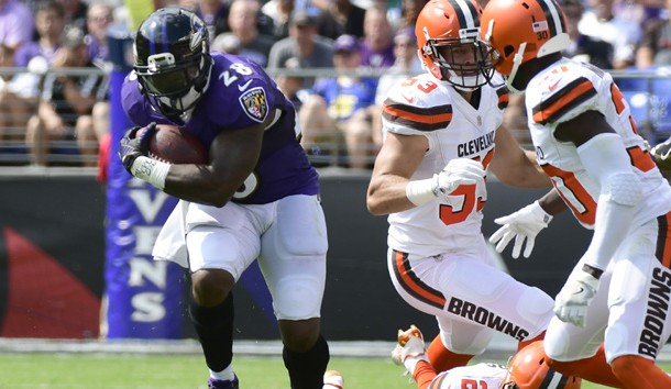 Terrance West (28) has been productive when healthy. Photo Credit: Tommy Gilligan-USA TODAY Sports