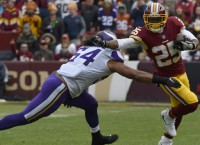 Redskins RB Thompson set for training camp