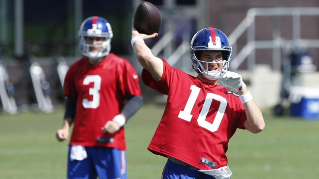 Eli out to prove Giants right for not drafting QB