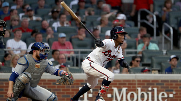 Braves place 2B Albies on IL, reinstate OF Markakis