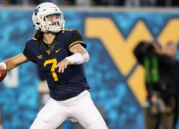 West Virginia revs up Heisman hype for Grier
