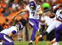 Vikings cut Forbath, hand kicking duties to Carlson