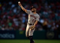 Astros look for 10th win in a row when they visit A's