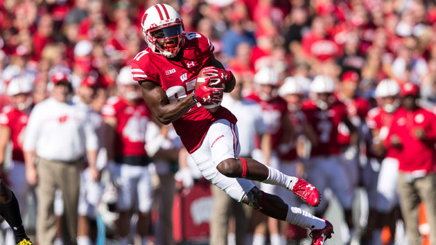 Wisconsin WR Cephus back at practice