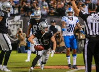 Reports: Raiders trading WR Switzer to Steelers