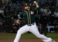 A's face Mariners challenging for first wild card bid