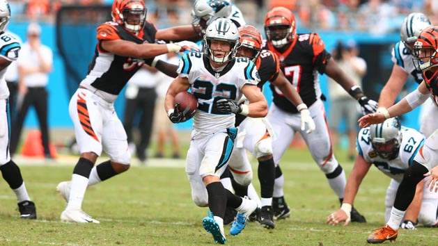 McCaffrey's career day leads Panthers over Bengals