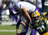 Vikings' kicking woes continue with rookie Carlson