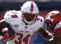 Ball State' Gilbert thrilled to play No. 8 Notre Dame