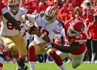 NFL Notebook: 49ers QB Garoppolo hurts knee