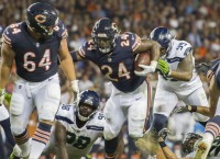 Bears start strong again, but finish off Seahawks