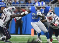Johnson ends Lions' 100-yard rushing drought
