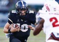 No. 9 UCF may face Temple without QB Milton