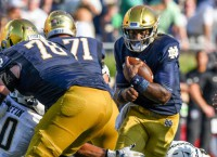 No. 8 Notre Dame heads to Wake Forest