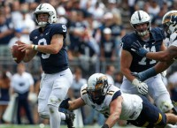 McSorley seeks record as No. 14 Penn State hits road
