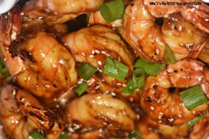 spicy honey lime shrimp