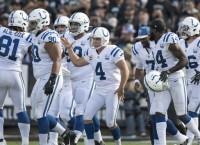 Colts hope Vinatieri settles as Falcons visit