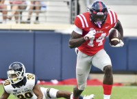Mississippi WR Metcalf (neck) out for season
