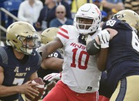 Houston DT Oliver questionable for South Florida