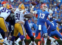 Gators Upset LSU in Gainesville behind Franks, D