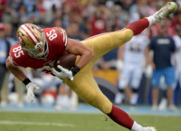 49ers TE Kittle emerging as strong target