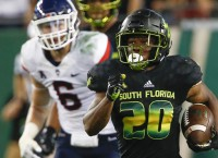 USF Holds On To Defeat UConn