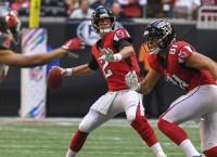 Ryan's start streak in doubt as Falcons host Seattle