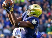 Boykin's Fourth Quarter Catch Bails Out Notre Dame