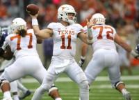 No. 19 Texas faces stiff test against No. 7 Oklahoma