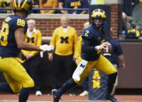 No. 12 Michigan faces stern test in No. 15 Wisconsin