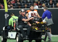 Report: Bengals' Eifert (ankle) to miss rest of season