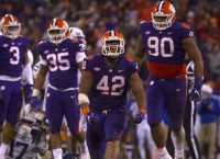 No. 2 Clemson meets South Carolina with lot on line