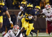 Michigan RB Higdon 'guarantees' win over Ohio State