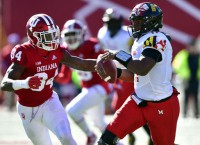 Maryland QB Hill (torn ACL) out for season