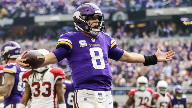 Vikings to sit Cousins, key starters on Sunday