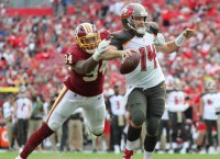 Bucs Get Yards, Not Points, in Loss to Redskins