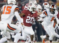 CFB Notebook: Stanford RB Love will skip Sun Bowl