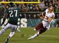 NFL Notes: Redskins QB McCoy has broken leg