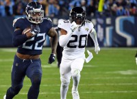 Titans RB Henry dealing with lower leg injury