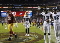 Eagles rout Redskins and earn playoff berth