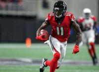 Falcons WR Jones a game-time decision