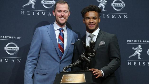 Oklahoma QB Murray wins Heisman Trophy