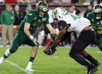 Gasparilla Bowl loss ends USF's disappointing season