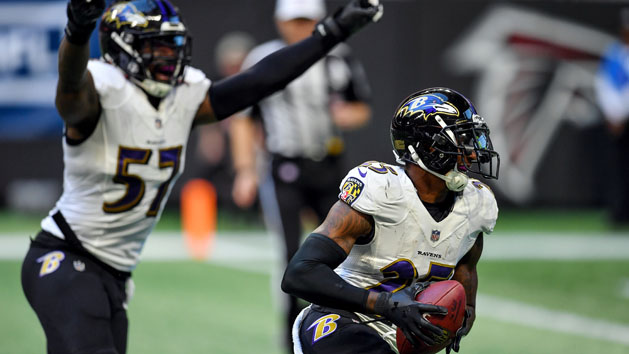Studs and Duds From the Ravens' Week 13 Win Over the Falcons