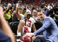 Saban: QB Tagovailoa will be ready for playoffs