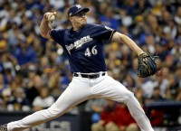Brewers P Knebel to decide Friday on surgery